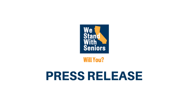 Governor Newsom Announces State's First Master Plan for Aging