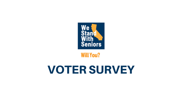 Infographic: Is California Failing Seniors? Voters Say Yes.