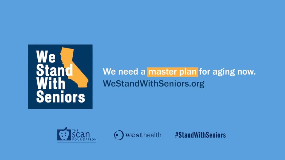 We Stand With Seniors Urges California's Next Governor to Make Older Adults a Priority