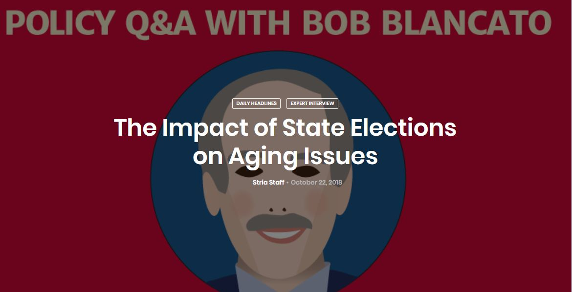 The Impact of State Elections on Aging Issues
