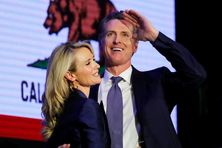 Next California Gov. Gavin Newsom inherits a surplus, a booming economy — and plenty of risks